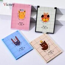 Vicney Draagbare Vouwen Make upspiegel Enkelzijdig Reizen Scheren Make Up Spiegel Compact Pocket Spiegel Vouwen Draagbare Hot Koop