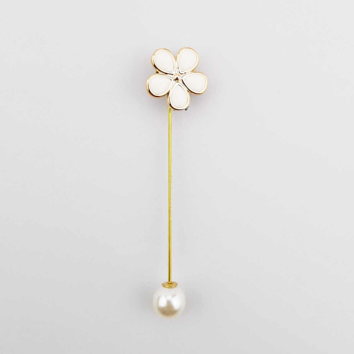 Cổ Điển Giả Ngọc Hoa Thổ Cẩm Thực Vật Và Động Vật Pin Thổ Cẩm Dành Cho Nữ Áo Cưới Huy Hiệu Phụ Kiện Trang Sức