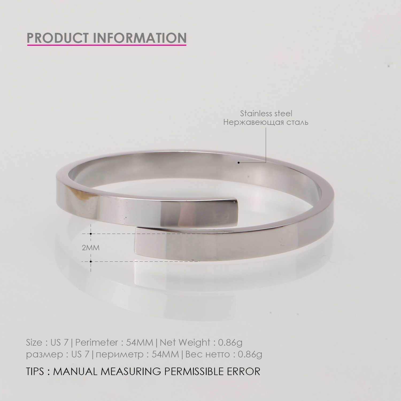 แฟชั่น custom letter แหวน/forever คนรัก/หมั้น/ปรับสแตนเลสหญิงแหวน/เหมาะสำหรับผู้หญิง