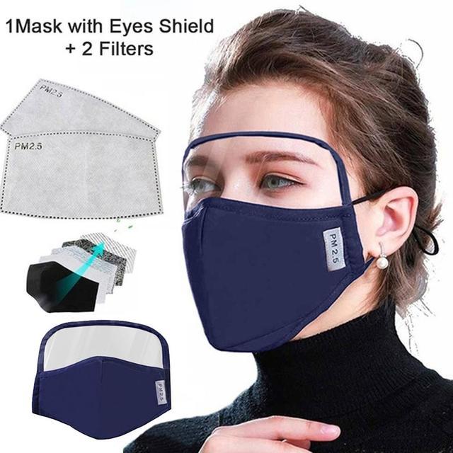 Προστατευτική μάσκα προσώπου και ματιών
