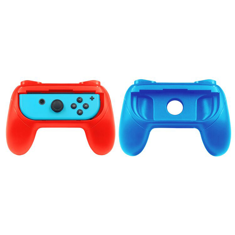 Griffe für Nintendo Schalter Freude-Con, Tragen-beständig Griff Kit für Schalter Freude Nachteile Controller, 2 Pack