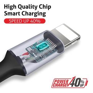 Image 3 - Câble USB Soopii 1.2M 3 en 1 type c & ios & micro câble chargeur USB 3A câble USB de charge rapide 2 paquets