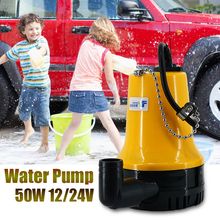 цена на 50W 4500L/H 5m DC 12V/24V Solar Water Pump Brushless Motor Water Circulation Submersible Pump Irrigation Fountain Fish Pond