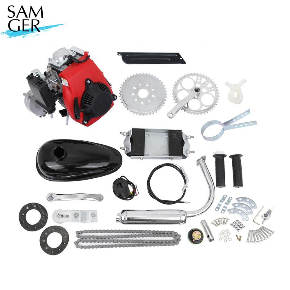 Bicycle Engine Kit 4 Stroke 49CC Gas Petrol Motorized Bike DIY Engine Motor Scooter Conversion Set With Belt