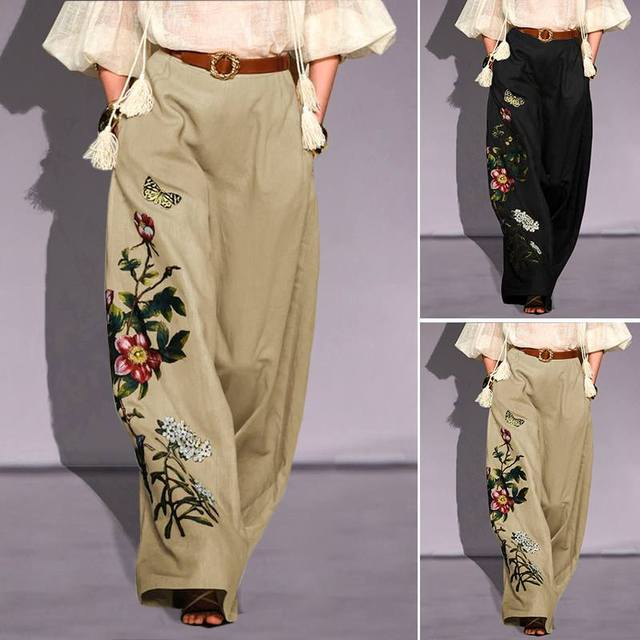 Embroidery Pants  4