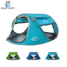 KEUMER Beach Tent Pop Up Open 240 * 180 * 100cm Camping Tent Large Automatic Instant Setup Foldable Travelling Beach Shelter(China)