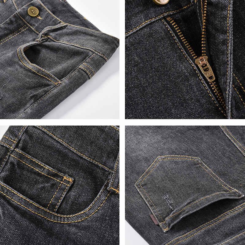 Shangege נשים רחב רגל ג 'ינס ציצית גבוהה מותן loose ארוך מכנסיים משלוח חינם