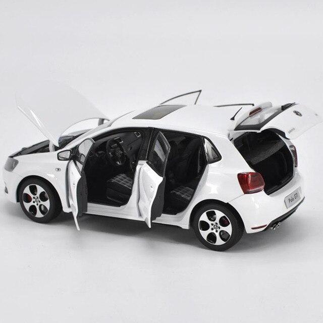 1/18 alliage modèle de voiture pour GIT 2013 nouveau PoIo métal moulé sous pression voiture modèle coulée hayon Miniature Collection jouets voiture cadeau