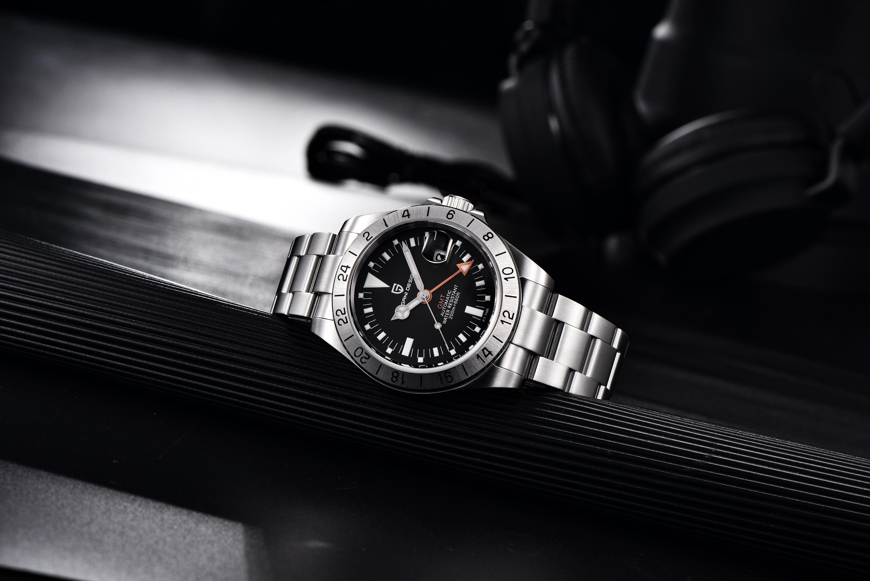 "Pagani Design PD-1693 GMT Black ""Steve McQueen"""