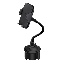 Car Charger Cell Phone Mount Wireless Charging Bracket Fast Charge Holder for Smartphone LHB99