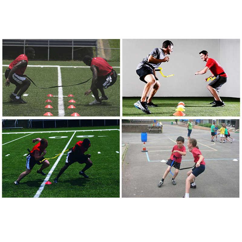 Calcio Calcio basket Formazione Agilità Cintura per I Bambini/Adulti di Sport Evasion Cintura Difensiva Velocità di Reazione di Formazione Cinghie