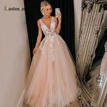 Молодежное розовое платье для выпускного вечера ТРАПЕЦИЕВИДНОЕ