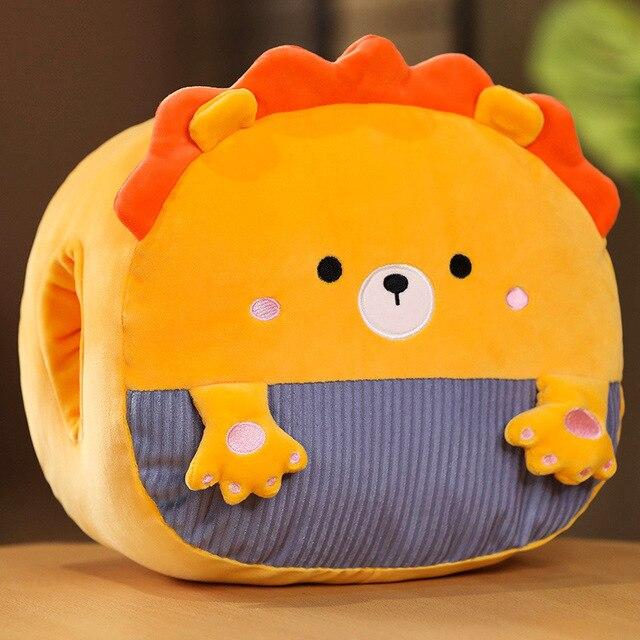 1 шт плюшевая игрушка зверюшка 30 см фотография
