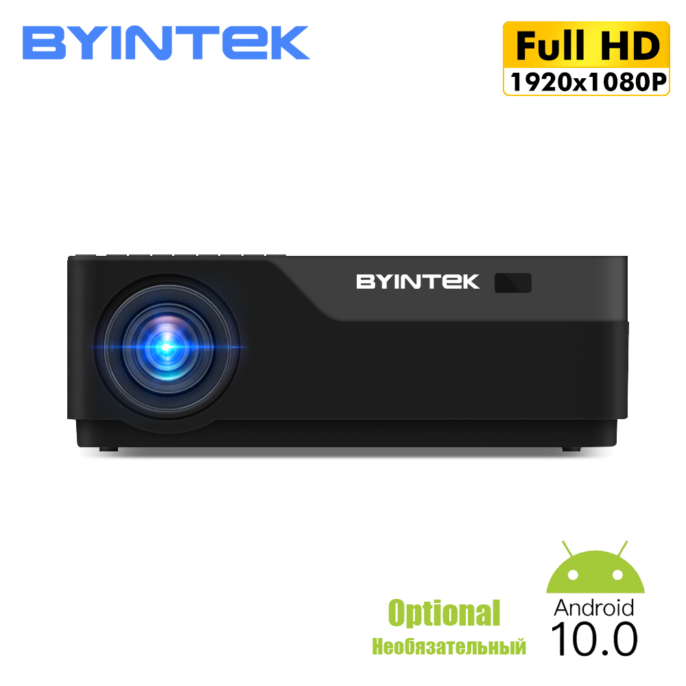 BYINTEK K19 Newest 1080p Projector, Native 1920*1080 Full HD LED Home Theater Video Projector Beamer Support AC3,movie Theater