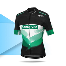 Brand New Men Cycling Jersey Hansgrohe Race Wear Pro Team Short Sleeve Shirt 2020 Custom Uniform Road Bike Summer Tops cheap RAUDAX Polyester Stretch Spandex 058-TS Full Zipper Fits true to size take your normal size Breathable Quick Dry Anti-sweat