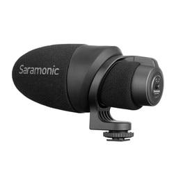 Saramonic CamMic Lightweight On-camera Shotgun Microphone with Integrated Shock Mount & Indicator for DSLR Canon Nikon Cameras