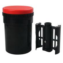 داركروم المدمجة تطوير خزان مع 4x5 4x10 بكرة معالجة اللون B/ث فيلم مع بكرات دوامة