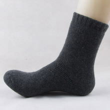 1 Pair Mens Thicken Thermal Wool Cashmere Casual Sports Winter Warm Hiking Socks