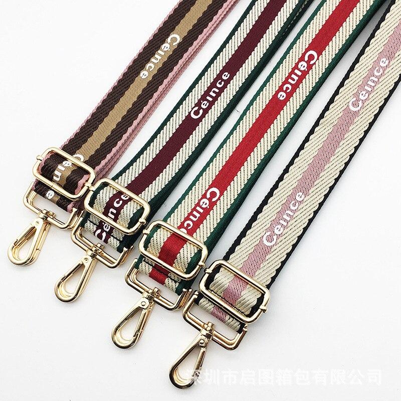 Nylon Belt Bag Straps Obag Accessories Adjustable Wide Strap For Women Shoulder Messenger Bags Handle Handbag Stra