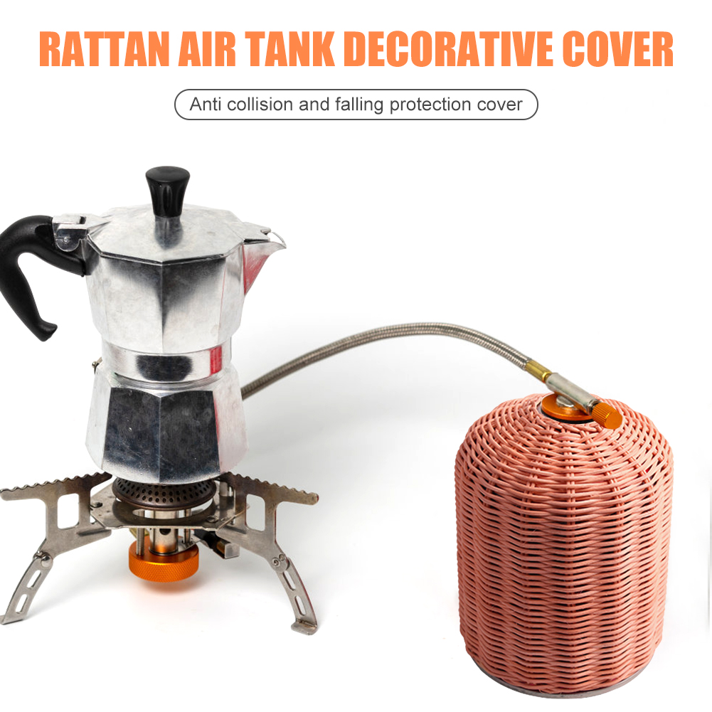 Outdoor Camping Gas Fuel Cylinder Storage Bag 450/230g Gas Canister Cover Protector Multi-function Canister Cover Protector
