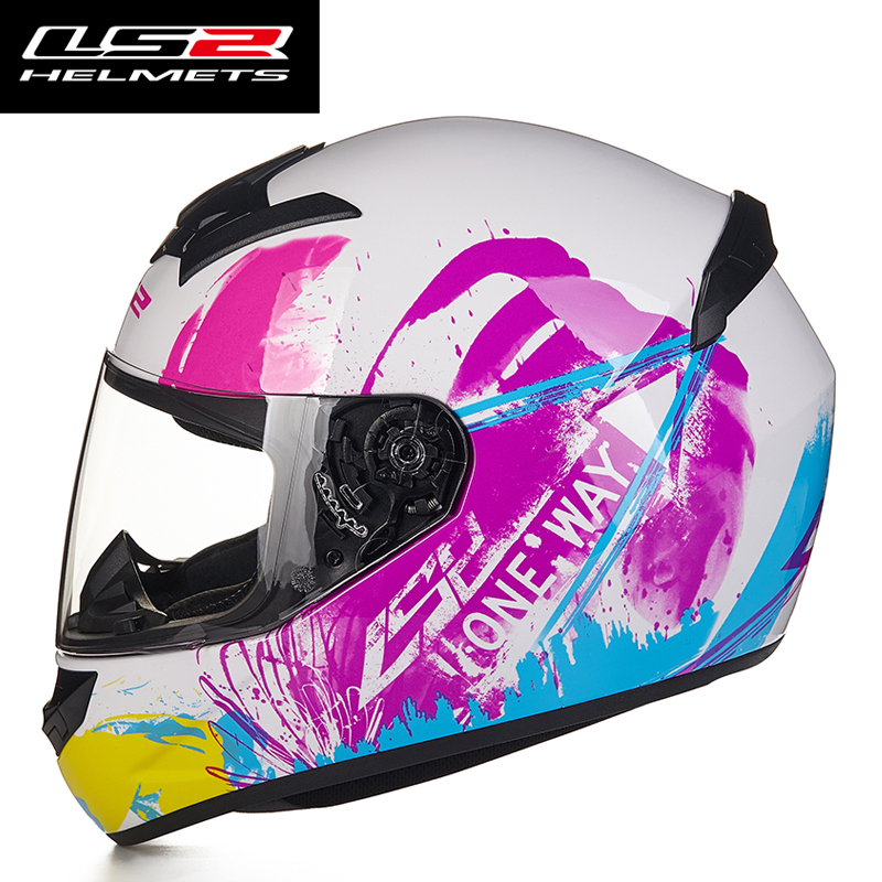 New Arrival LS2 FF352 Motorcycle Helmet Fashion Design Full Face Racing Helmets ECE DOT Approved Capacete Casco Casque Moto 5
