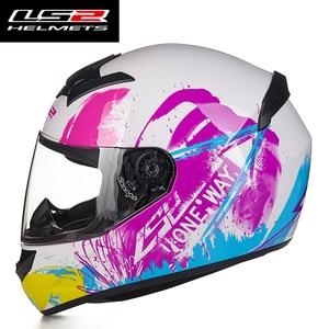 Image 5 - Nieuwe Collectie LS2 FF352 Motorhelm Fashion Design Volledige Gezicht Racing Helmen Ece Dot Goedgekeurd Capacete Casco Casque Moto