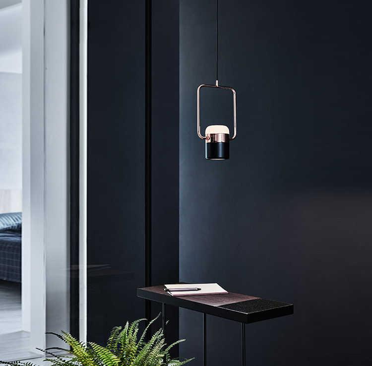 Столовая лампа современная люстра в минималистическом стиле гостиная креативная личность скандинавские постсовременные спальни бар прикроватная лампа