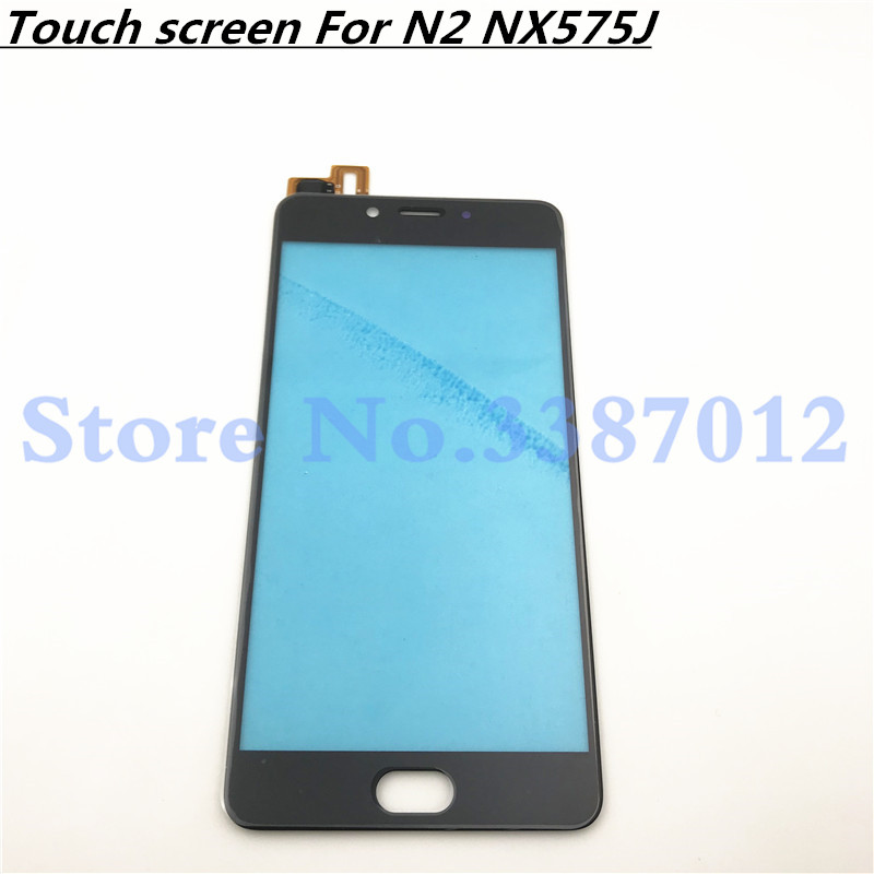 5.5 Replacement High Quality For ZTE Nubia N2 NX575J Touch Screen Digitizer Sensor Outer Glass Lens Panel on