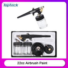 Spray-Gun Airbrush-Paint Diy-Tool Nail Tattoo-Art 22cc Face Mini Single-Action