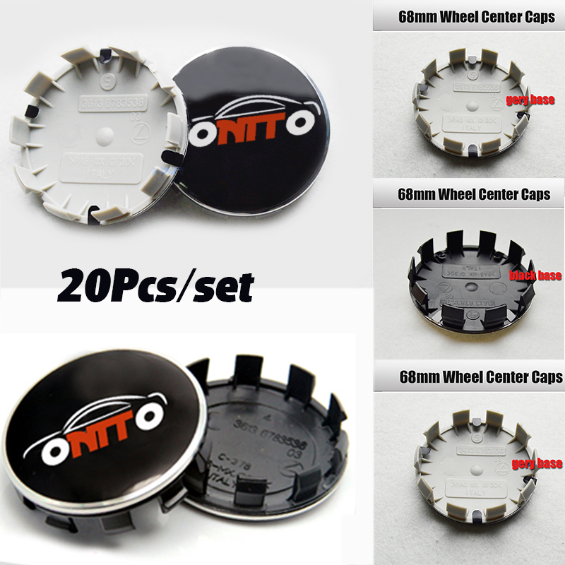 20pcs 68mm 10pins Car Wheel Center Hub Caps Rim Caps Logo Emblem For E90 F10 F30 F15 E63 E64 E65 E86 E89 E85 E91 E92 E93 F02