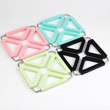 1PCS Silicone Coasters Cup Pad Non-slip Heated Mat Coffee Tea drink Leaves pattern for cup