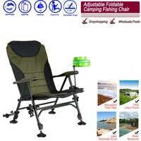 Sillas plegables portátiles con bolsa para playa, asiento ligero de tela Oxford para pícnic al aire libre, barbacoa, pesca, Camping