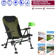 Beach With Bag Portable Folding Chairs Outdoor Picnic BBQ Fishing Camping Chair Seat Oxford Cloth Lightweight Seat for