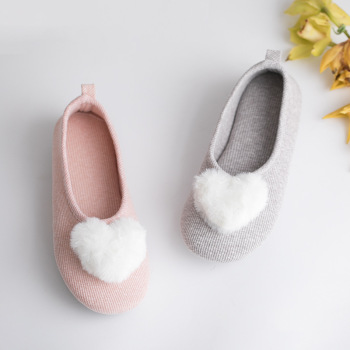 Suihyung Spring Autumn Home Slippers Women Indoor Floor Shoes Soft Bottom Bedroom Slides Fur Hairball Non-slip Ladies Slippers gktinoo autumn winter warm women home slippers soft non slip indoor shoes cute house slip on flat slides ladies fur slippers