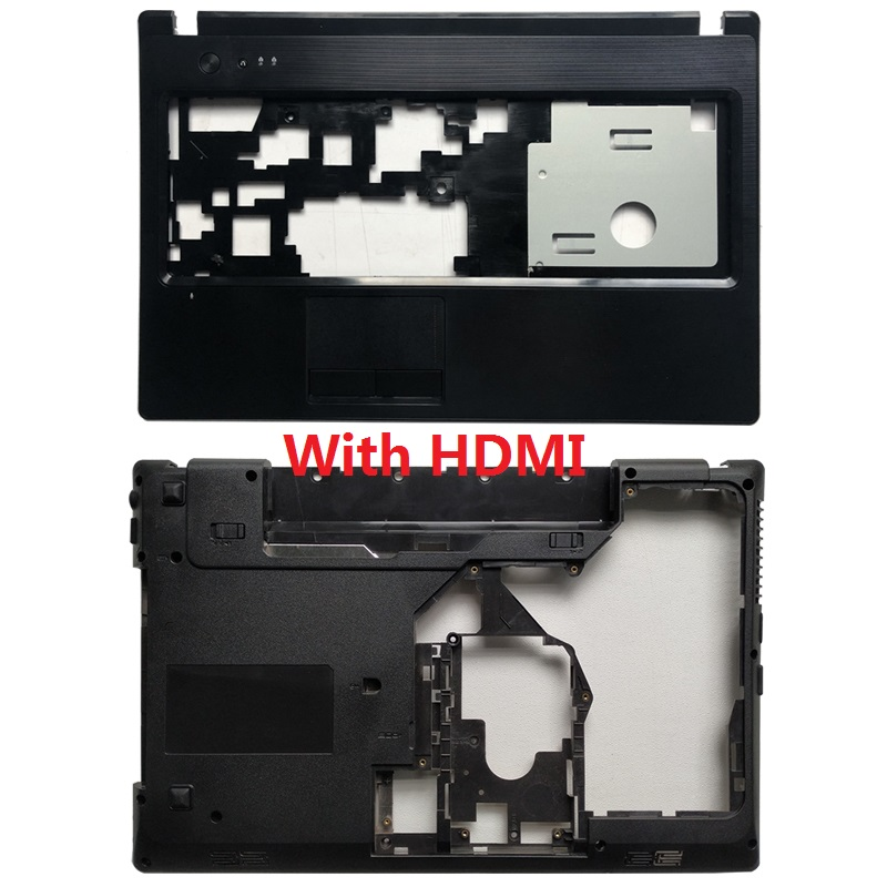 NEW FOR Lenovo G570 G575 Bottom Case Cover & Palmrest Cover Upper Case With