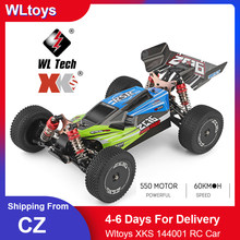 Wltoys XKS 144001 RC Car 60km/h High Speed 1/14 2.4GHz RC Buggy 4WD Racing Off-Road Drift Car RTR Toys Kid