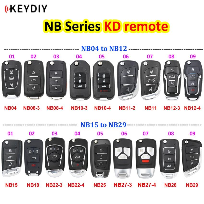 KEYDIY многофункциональный пульт дистанционного Управление NB серии NB04 NB11 NB15 NB18 NB29 NB27 NB18 для KD900 URG200 KD-X2 все функции, указанные в одно касание