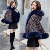 Classical Plaid Warm Autumn Winter Wool Scarf Women Shawl Scarfs For Female Lady Lattices Long Cape