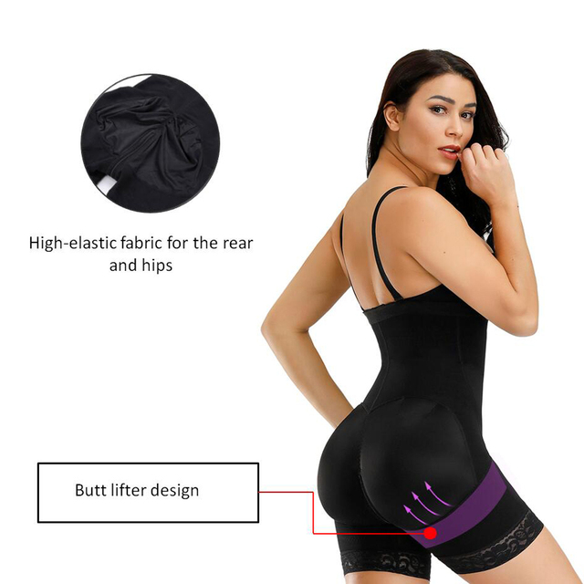 Corset Secret Women Body shaper Tummy Control Underwear Adjustable Straps Shapewear Crotch Zipper design Bodysuit Women Corset 4