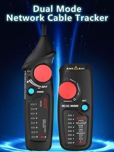 Network Cable Tracker Tester BSIDE FWT82 81 RJ45 RJ11 Telephone Wire Toner Ethernet LAN Tracer Analyzer Detector Line Finder