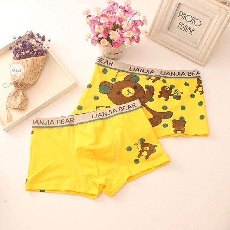 2Pc Cotton Boxer for Boys Cartoon Kids Children Underpants Panties 5