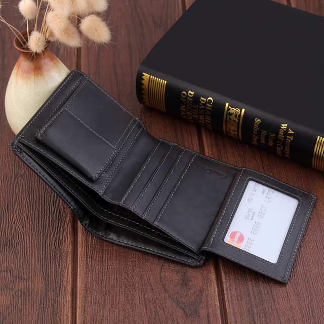 Luxury Brand Wallet Men Leather Men Wallets Purse Top Quality male clutch leather wallet man money bag quality guarantee