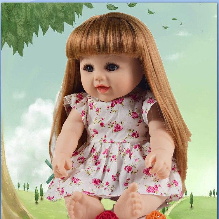 Enfant éducation précoce doux enfants mascotte reborn jouets vinyle poupée popularité