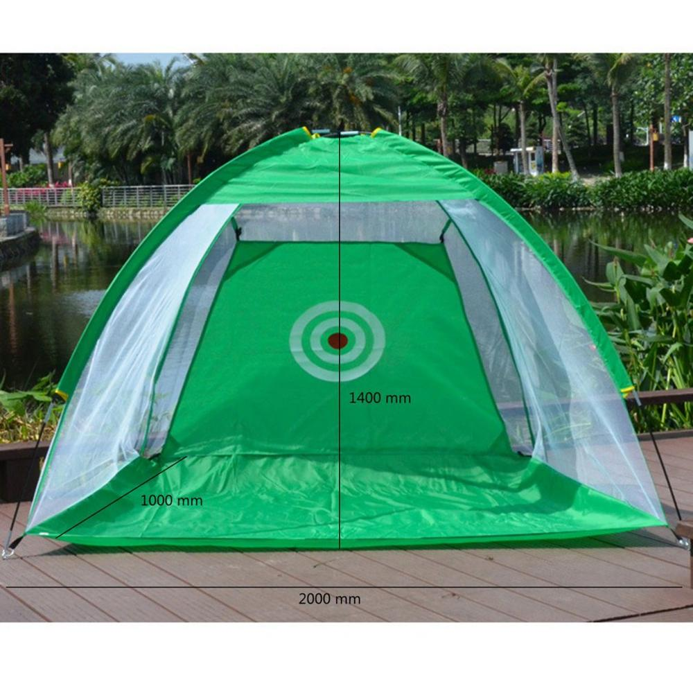 Indoor/Outdoor Golf Training Aids Portable Foldable Golf Hitting Cage Garden Grassland Golf Practice Net