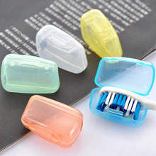 Covers Toothbrush Protect-Box Storage Travel Portable 5pcs/Set