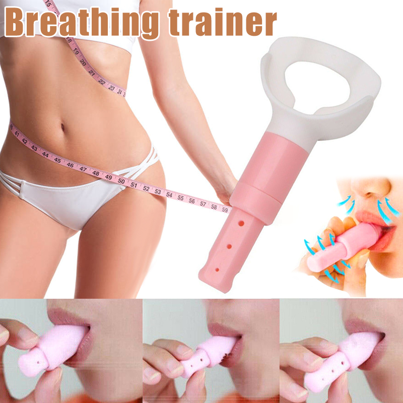 5 Minutes Fat Abdominal Breathing Trainer Slimming Body Waist Increase Lung Capacity Face Intergated Fitness Equipment