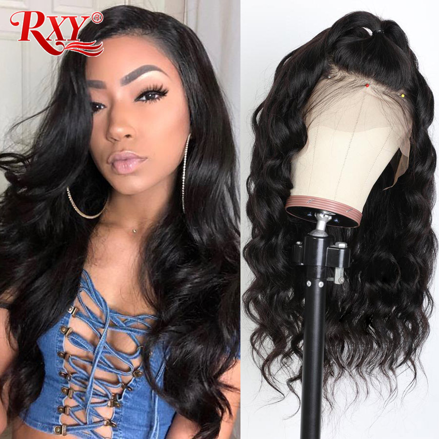 RXY Body Wave 13x6 Lace Front Wig Lace Front Human Hair Wigs For Women Brazilian Remy Human Hair Wigs 13*4 Deep Part Hairline
