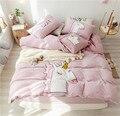 Роскошный мягкий вельветовый Комплект постельного белья с единорогом  комплекты пододеяльников  теплые зимние детские комплекты постельн...