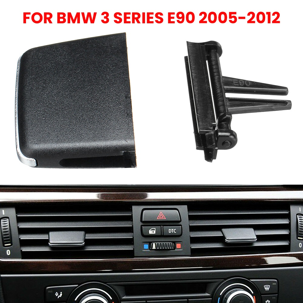 Car Air Vent Outlet Tab Repair kit Front Air conditioning Vent For BMW 3 Series E90 2005-2012 image