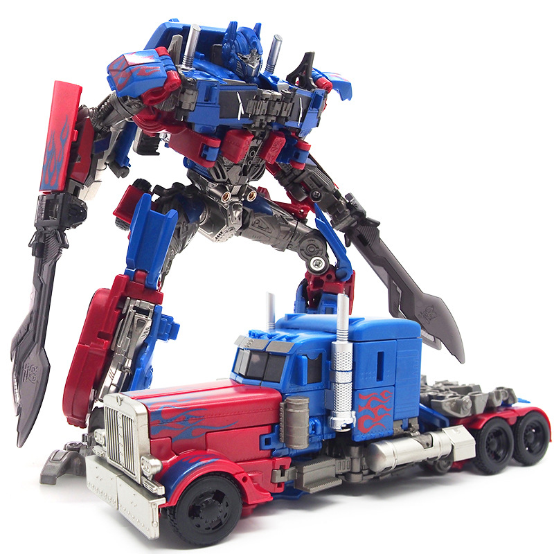 Deformation Robot Jingang Children'S Educational Toy Autobots Optimus Prime Boy Toy Transformer